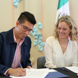 Signing of Mexican Culture Ministry partnership