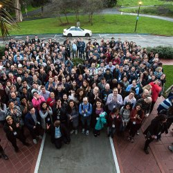 Group photo at Wikimedia Foundation All Hands 2018