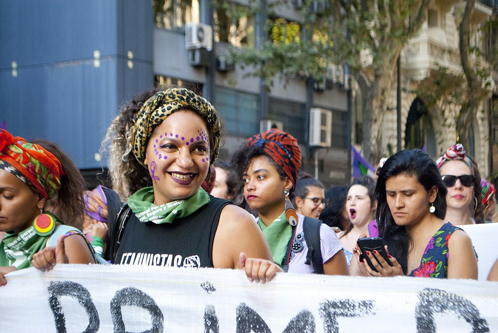 International Women's Strike in Buenos Aires in 2018