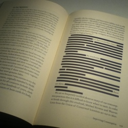 Censored section of Green Illusions