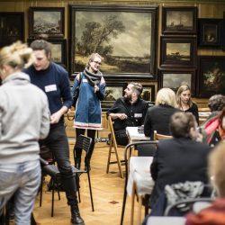 Editathon in the Hallwyl Museum, Stockholm