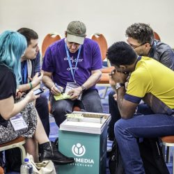 Volunteers at Wikimedia Conference 2017