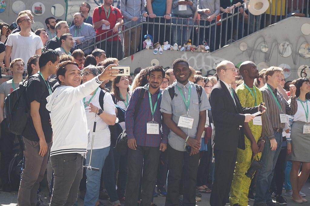 Group Photo Wikimedia Conference 2018