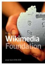 Wikimedia Foundation Annual Report 2008 cover