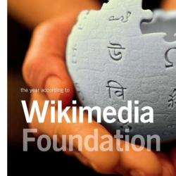 Wikimedia Foundation Annual Report 2008 cover