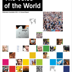 Wikimedia Foundation Annual Report 2011 cover