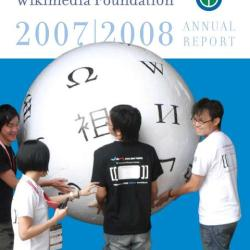 Wikimedia Foundation Annual Report 2007-2008 cover