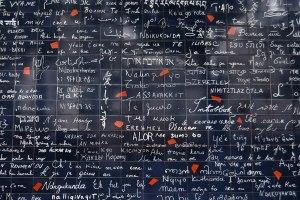Wall of Love in Paris