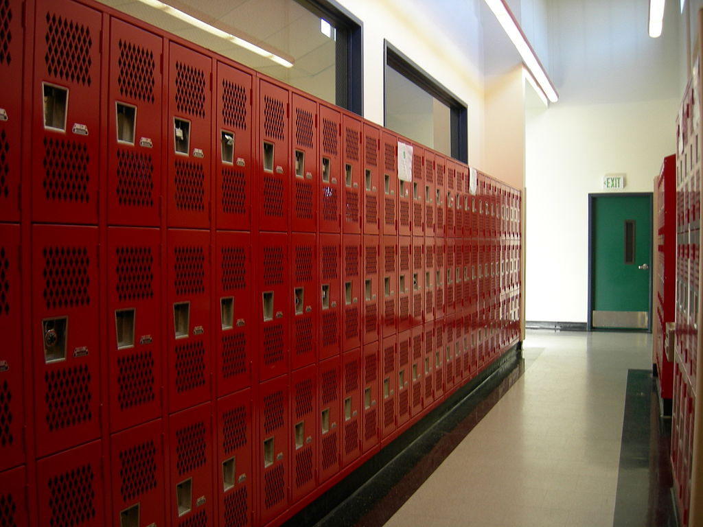 Lockers at Seattle South CC TEC