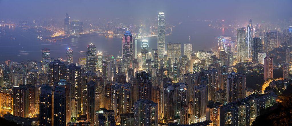 Hong Kong skyline - December 2007