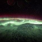 ISS-52 Aurora australis above Antarctica